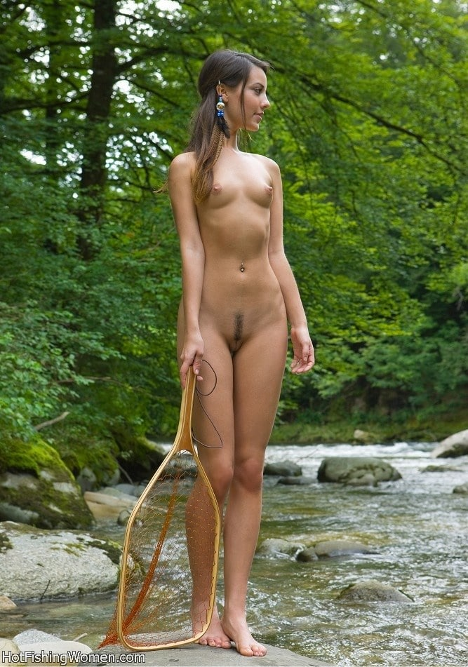 nude fishing